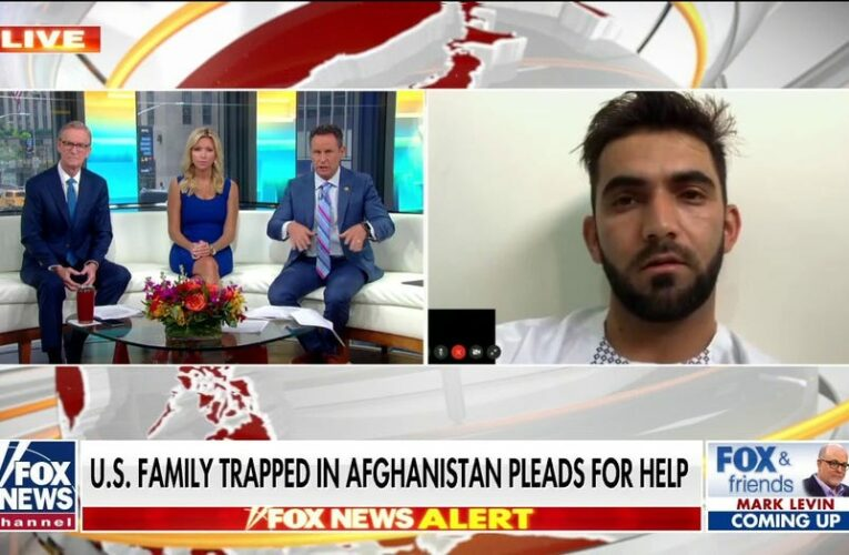 American family trapped in Afghanistan begs Biden for help: 'We don't have safety anymore'