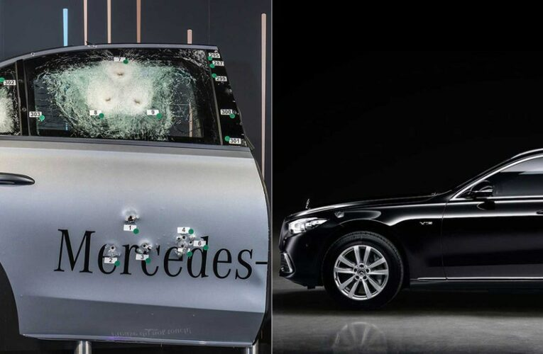 Armored $600K Mercedes-Benz S-Class Guard can withstand assault weapon fire