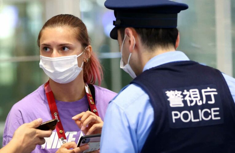 Belarusian sprinter refuses to leave Tokyo, saying she was taken to airport against her will