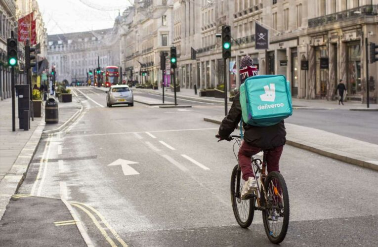 Deliveroo shares rise after German rival takes stake in the business