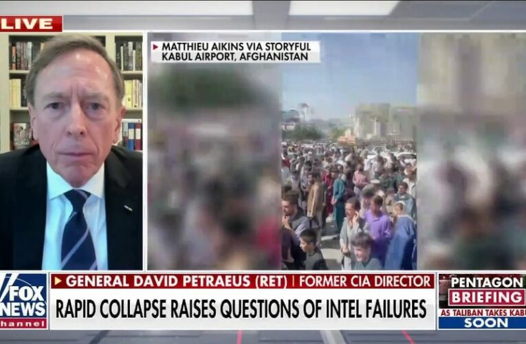Gen. Petraeus calls out Biden's 'disastrous' Afghanistan withdrawal: This is a 'Dunkirk moment'