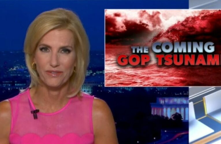Ingraham: 'We need a storm of common sense' to wash Democrats out of Washington 'for good'