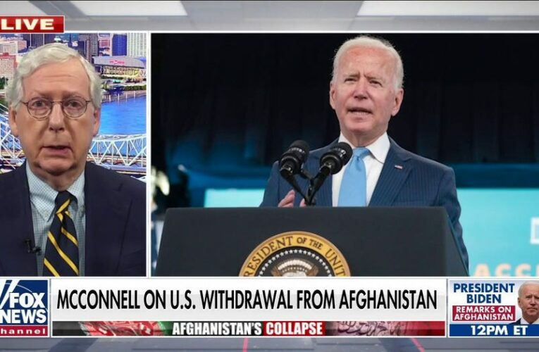 Kamala Harris calls Biden's Afghanistan decision 'courageous' as others in White House blame Trump