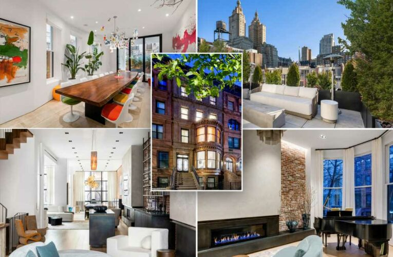 Most expensive townhouse on Upper West Side to hit the market at $27.5M