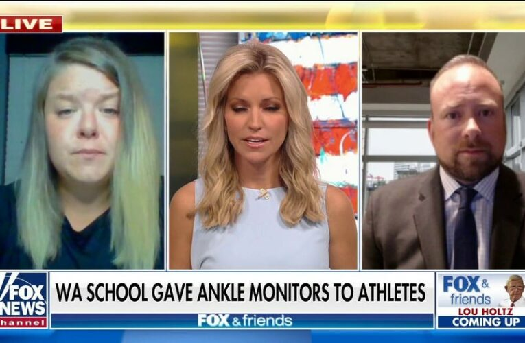 Mother rips high school's decision to make athletes wear ankle monitors: 'There was no consent'