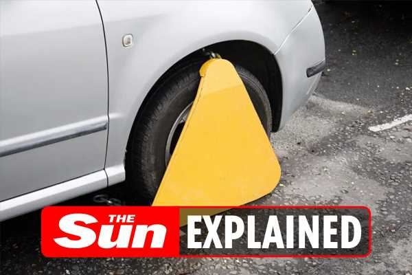 What happens if my car is clamped, how do I get it released and how much will it cost?