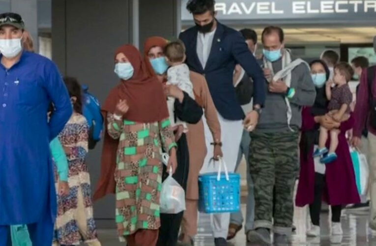 Afghan evacuee flights to US halted after measles cases among recent arrivals