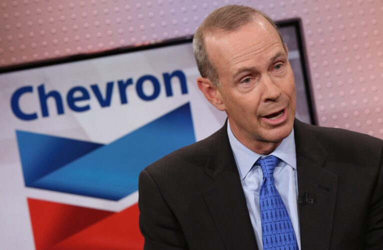 Chevron CEO explains why the oil giant's lower-carbon investments look past wind and solar energy