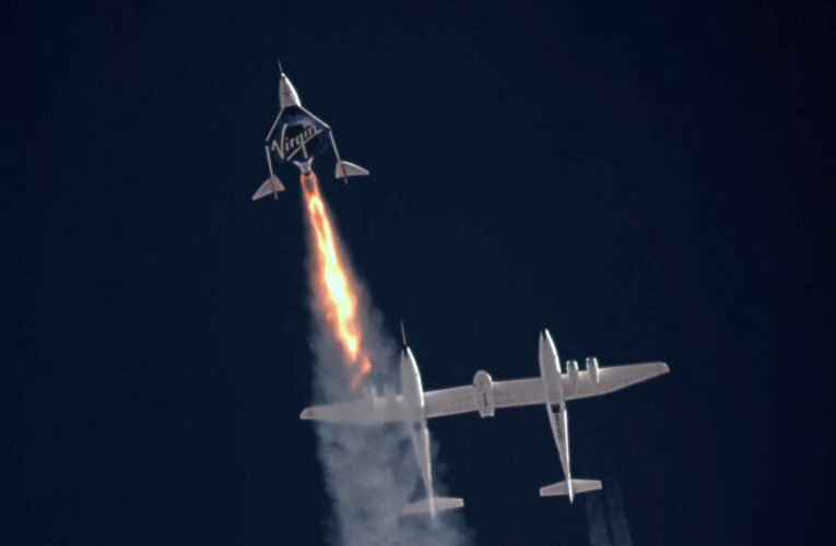 FAA grounds Virgin Galactic's spacecraft during investigation of Branson flight issues