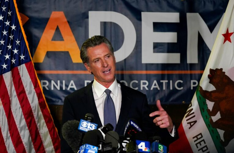 """Gavin Newsom Says He's """"Humbled, Grateful But Resolved"""" After Big Victory Against Recall"""