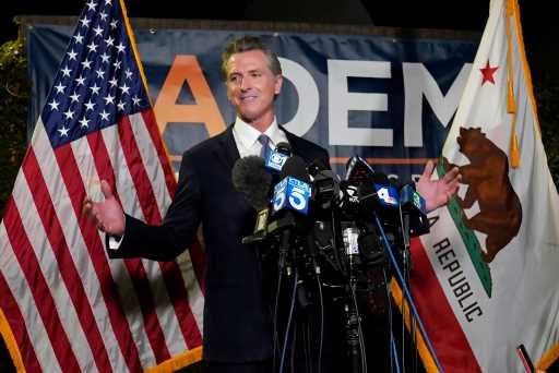 "Hollywood Weighs In As Gov. Gavin Newsom Beats Recall Effort: ""Vote Was So Lopsided, It's Basically Elder Abuse"""