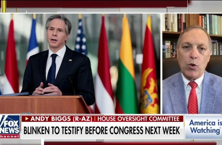 Rep. Biggs: Blinken will have to explain why he didn't listen to intel community