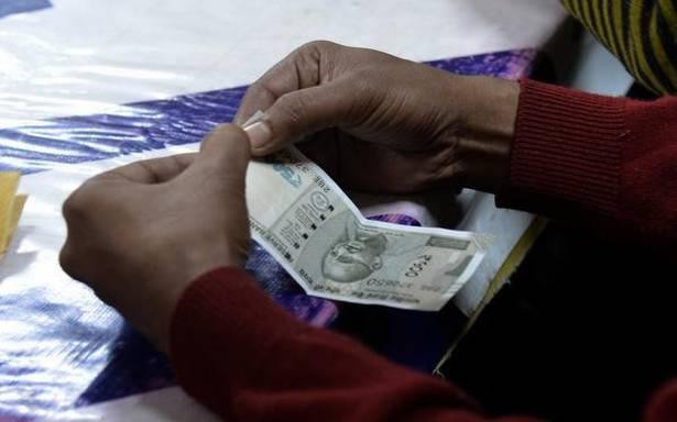 Rupee snaps 4-day winning streak, drops 8 paise against U.S. dollar