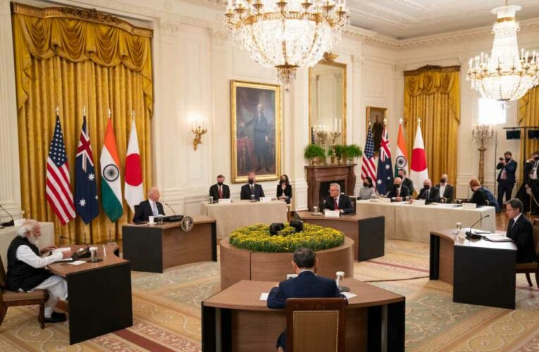 The Quad countries pledge to promote an Indo-Pacific region that is 'undaunted by coercion'