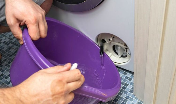 Cleaning: Mrs Hinch fans share simple hack for emptying washing machine filters