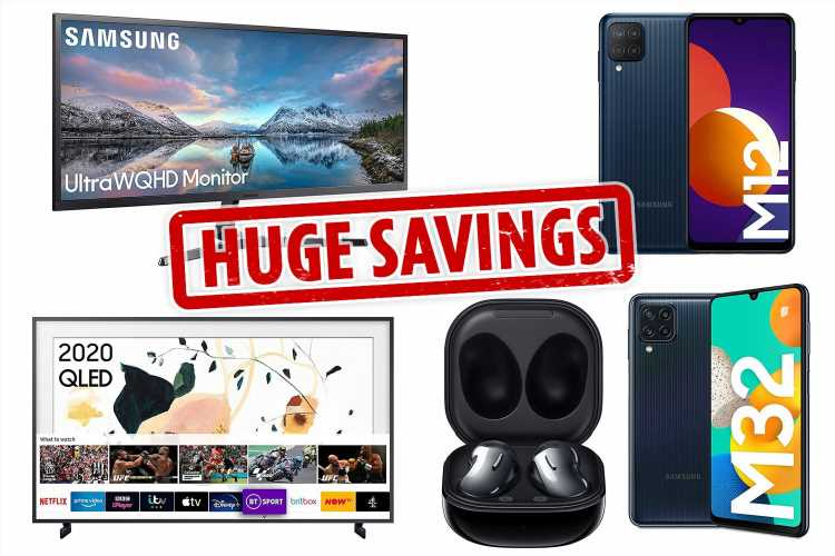 HUGE SAVINGS on Samsung Devices in Amazon's Early Black Friday Payday Sale | The Sun UK