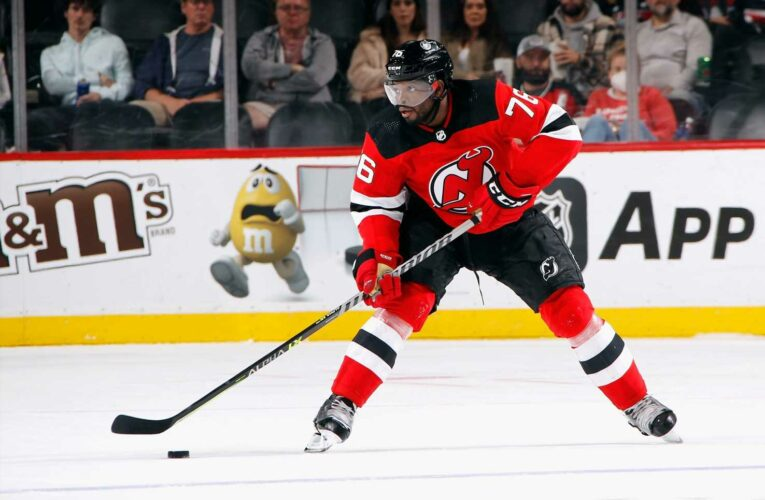 New Jersey Devils will feature Black-owned business logo on helmets after extension with Prudential