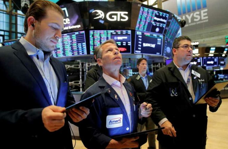 Stock futures rise slightly after a tech-driven sell-off on Wall Street